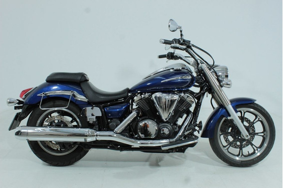 Yamaha Xvs 950a Midnight Star 2012 Azul
