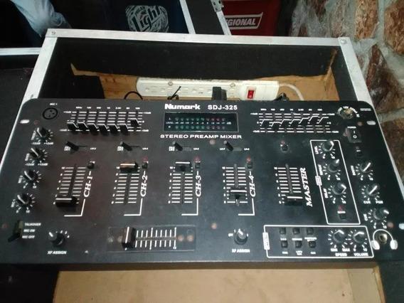 Mezclador 4 Canales Numark Sdj 325