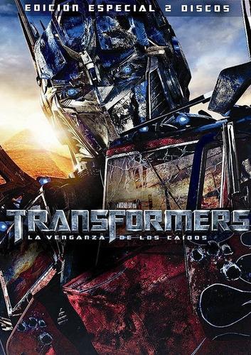 Transformers 2 La Venganza De Los Caidos Ed 2 Dvds + Cover