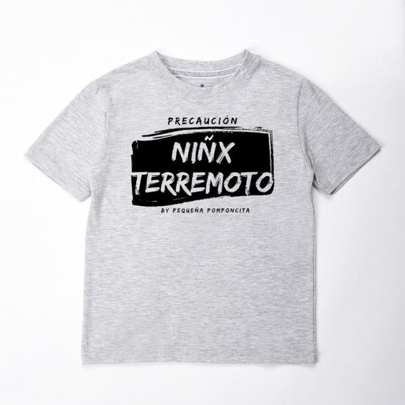 Remera Niñx Terremoto