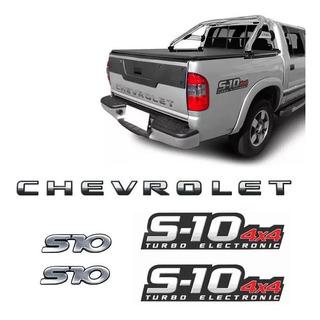 Kit Adesivos S10 4x4 Turbo+s10 S. Antonio+faixa Chevrolet