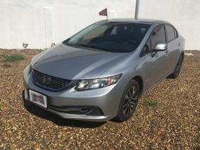 Honda Civic 2013 Lx Aut Plata Con Garantia