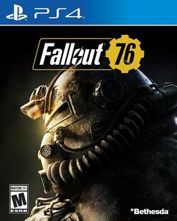 Fallout 76 Ps4 Fisico En Stock