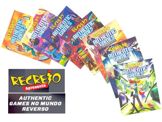 Authentic Game Recreio Marco Túlio Fascículos Quadrinhos