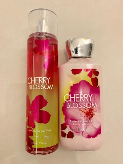 Cherry Blossom Colonia Splash / Creme Bbw 100% Original