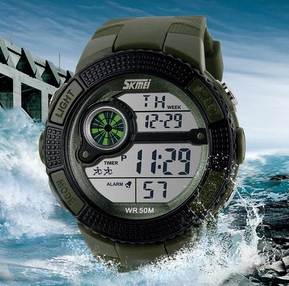 Relógio Esportivo Skmei Resistente À Água Promoção Barato