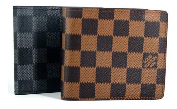 Billeteras Louis Vuitton De Cuero Lv Para Caballeros