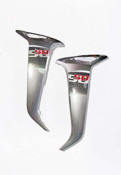 Protetores De Pernas Externos (par) Cinza Traxx Moby 50