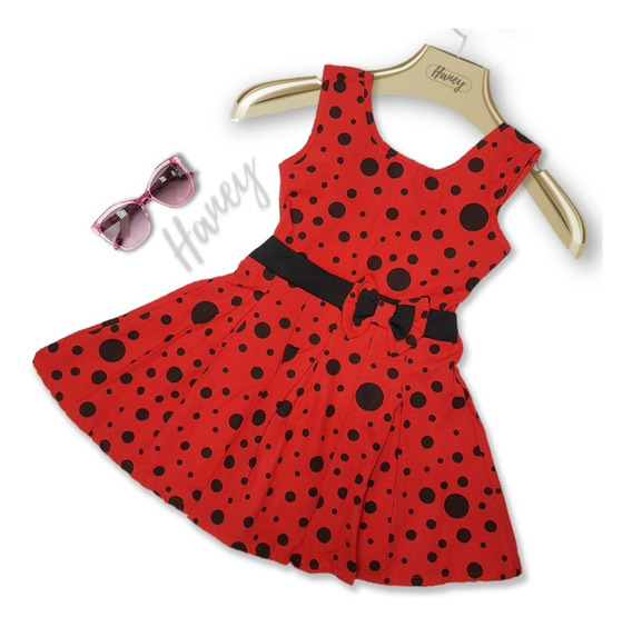 5 Vestido Infantil Feminino Menina Casual Roupa Atacado Tam 4 6 8