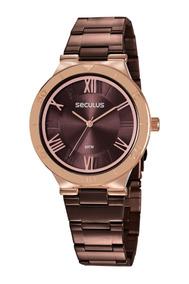 Relógio Feminino Seculus 77024lpvxs2 Promoção Dia Dos Pais