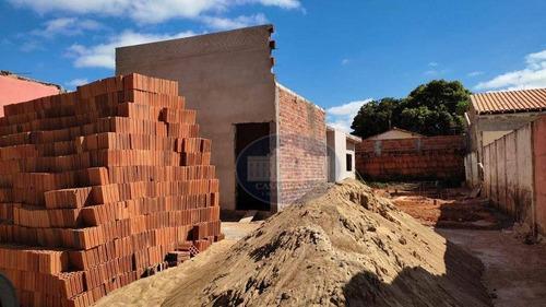 Imagem 1 de 1 de Casa Em Construção No Bairro Jussara! - Ca1804