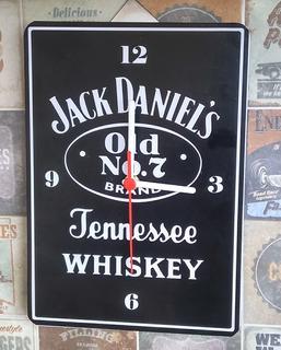 Relógio Jack Daniels De Parede.