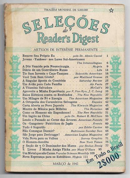 Revista Seleções Nº 2 De Março De 1942