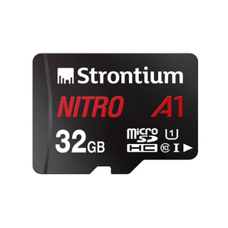 Strontium Nitro 32gb Micro Sdhc Memory Card 100mb/s A1 Uhs-i