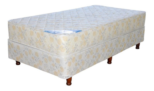 Sommier Wes Apolo 1 1/2 plaza 190x100cm beige