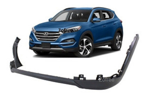 Parachoque Delantero Inferior Hyundai Tucson 2016 - 2019