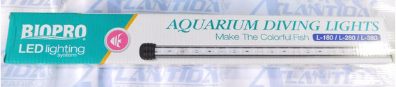 N Lampara Leds Biopro L-280 Mide 26.5cm Azul Sumegible