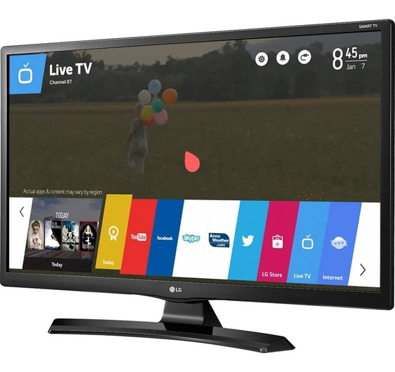 Smart Tv Monitor Lg Led 28 28mt49s-ps Hd Wi-fi Netflix