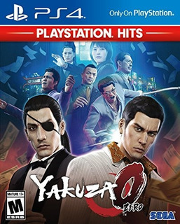 Yakuza 0 Zero Ps4 Fisico Nuevo Y Sellado
