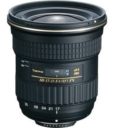 Lente Tokina 17-35mm F4 Pro Fx Para Canon C Nf-e