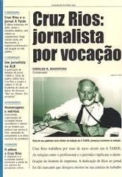 Cruz Rios: Jornalista Por Vocação Edivaldo M. Boaventura (co