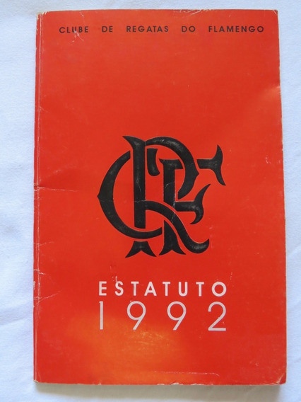 Flamengo: Estatuto De 1992 Raro