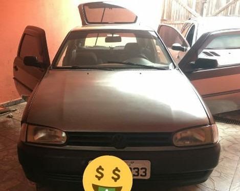Volkswagen Gol Special Motor 1.0 Gasolina Cor Cinza Ano 2002