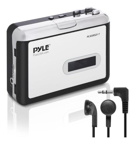 2-en-1 Cassette-to-mp3 Convertidor Grabador Y Walkman Usb Ca