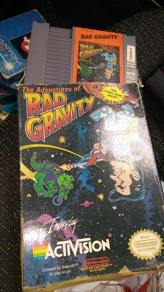 Rad Gravit Nes Nintendo
