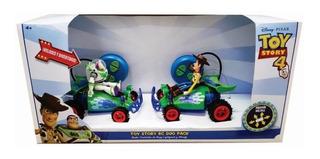 Toy Story 4 Radio Controles De Buzz Lightyear Y Woody