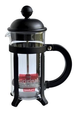 Cafetera Bodum Original Java 3 Pocillos Color Negro