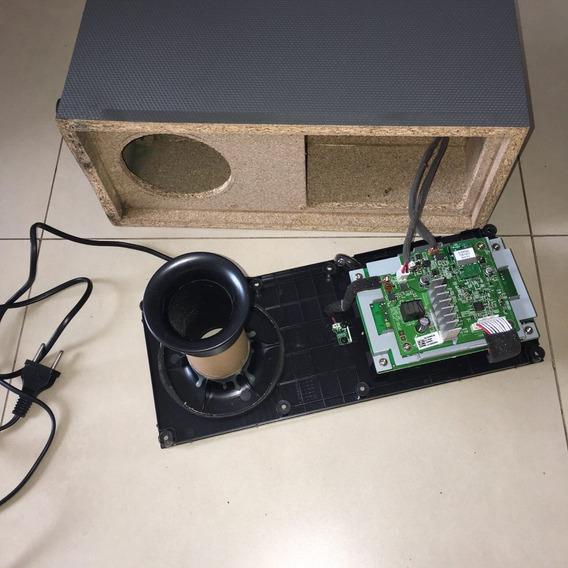 Subwoofer Lg Home Teather C/ Defeito Wireless - Peças Cód055