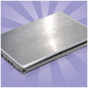 Kit 2 Und. Película Protetora Aço Escovado Notebook Netbook