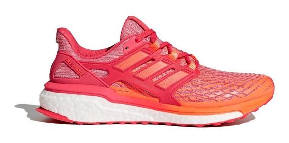 adidas Zapatillas Running Mujer Energy Boost Naranja/rojo