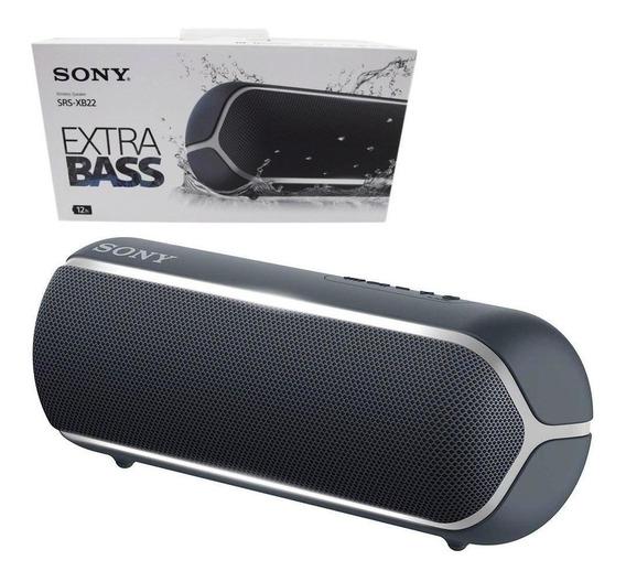 Caixa De Som Bluetooth Extra Bass Srs-xb22 Sony Preto