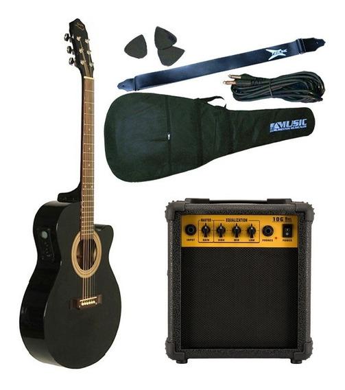Guitarra Electroacustica Gracia 300tvd + Amplificador 10w
