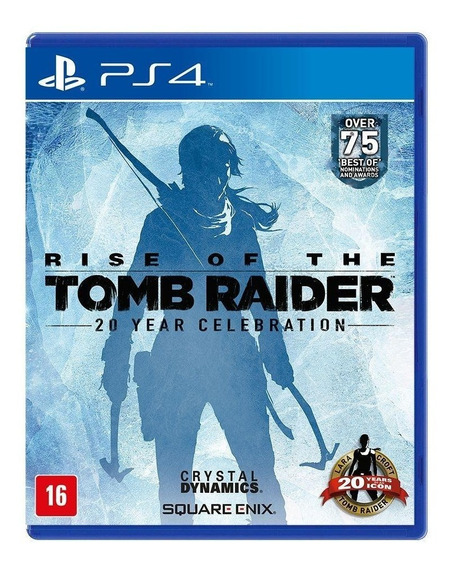 Rise Of The Tomb Raider Ps4 Mídia Física Novo Lacrado