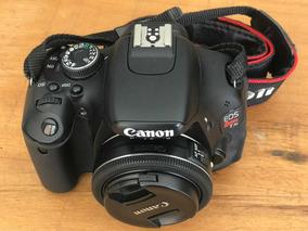 Canon T3i Com Lente 40mm