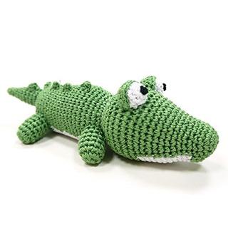 Dogo Cotton Crochet Knit Squeak Toy Para Perros Pequeño...
