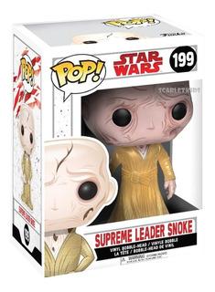 Funko Pop Star Wars Supreme Leader Snoke 199 Orig Scarlet