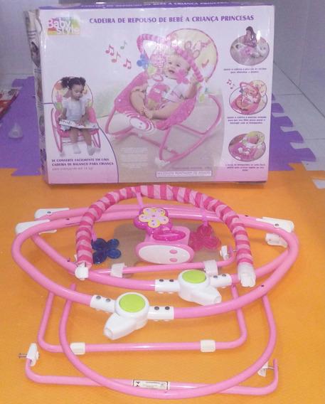 Cadeira De Repouso De Bebê A Criança Princesas - Rosa