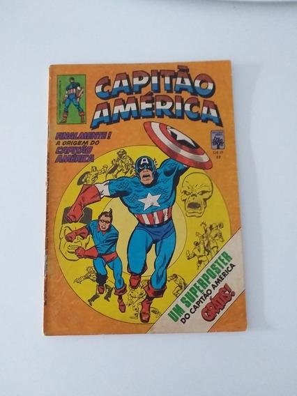 Capitão America Nº17 C/ Poster Calendario
