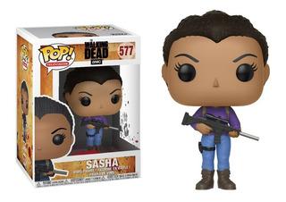 Figura Funko Pop The Walking Dead - Sasha 577 Original Wabro