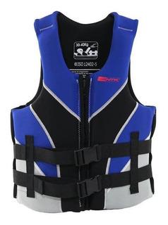 Colete Salva Vida Nautika 80/100kg Neoprene Esporte Aquático