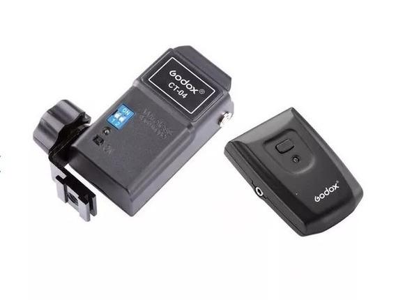 Radio Flash Godox/greika Ct-04 Speedlite Trigger Canon Nikon