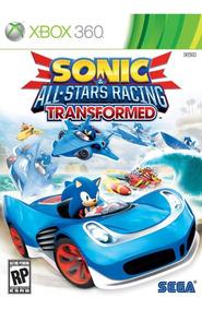 Sonic All Star Racing + Banjo Kazzoie (xbox 360) Lacrado