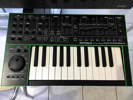 Roland System-1 Na Caixa + Acessorios (impecavél!!)