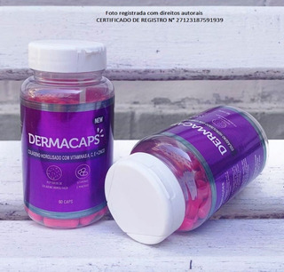 Colágeno Dermacaps - 3 Potes - Original