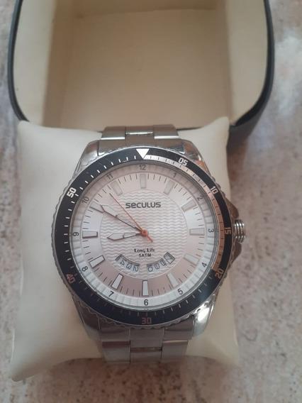 Relógio Seculus Masculino 28739gosgna1