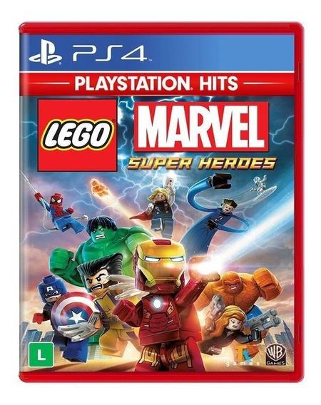 Lego Marvel Super Heroes (playstation Hits) - Ps4 - Lacrado